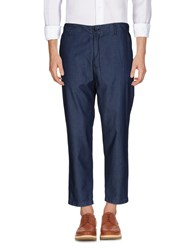 Ejxiii Casual Pants Blue