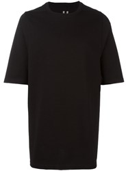 Rick Owens Oversized T Shirt Black