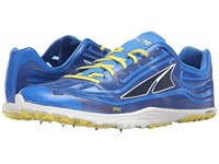 Altra Footwear Golden Spike Blue Athletic Shoes