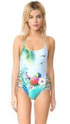 6 Shore Road Carnival One Piece Parrot