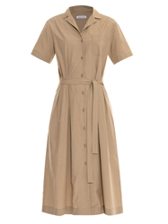 Tomas Maier Safari Cotton Shirt Dress