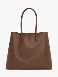 Matt And Nat Dwell Colletion Krista Vegan Tote Bag Brick
