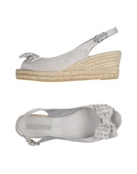 Apepazza Sandals Light Grey