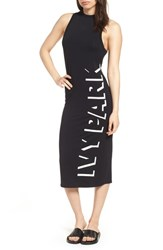 Ivy Park Shadow Logo Dress Black