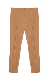 The Row Skinny Trousers Brown