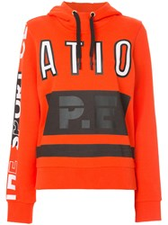 P.E Nation Free Hit Sweatshirt Cotton Red