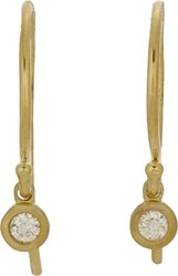 Tate Women's Diamond Drop Earrings Colorless