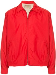 Fake Alpha Vintage 1960'S Anti Freeze Jacket Red