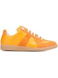 Maison Martin Margiela 'Replica' Sneakers Yellow Orange