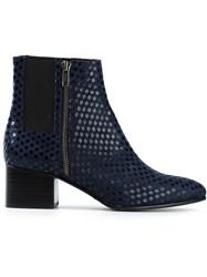 Opening Ceremony 'Marine' Ankle Boots Blue