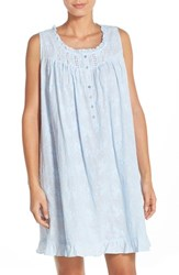 Women's Eileen West Embroidered Cotton Nightgown
