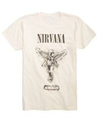 Fea Nirvana Graphic Print T Shirt Natural