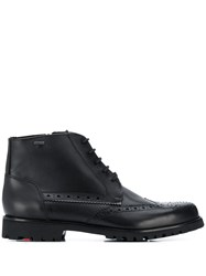 Lloyd Perforated Ankle Boots Black