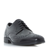 Howick Patricks Chisled Lace Up Brogues Black