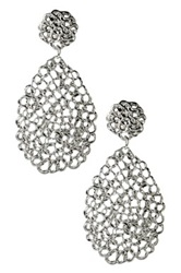 Amrita Singh Redezvous Filigree Earrings Metallic