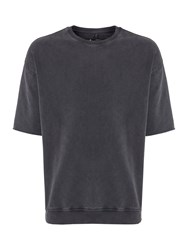 Label Lab Senator Raw Edge Sweat Washed Black