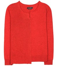 Isabel Marant Calgary Wool Yak And Cotton Sweater Red