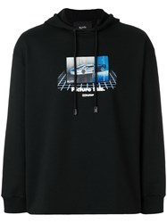 Blood Brother Picture This Graphic Print Hoody Black