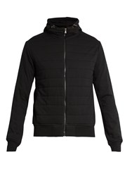 Polo Ralph Lauren Hooded Quilted Jersey Jacket Black