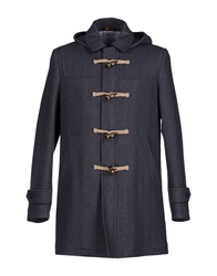 Enrico Coveri Coats Military Green