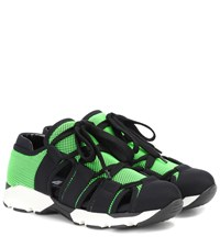 Marni Techno Fabric Sneakers Green
