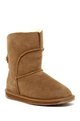 Emu Alba Lo Genuine Sheep Fur Boot Brown
