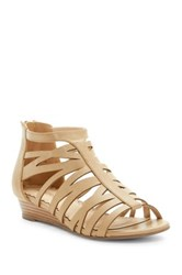 Restricted Desert Rose Wedge Sandal Gray
