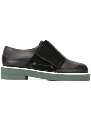 Marni Velcro Loafers Black
