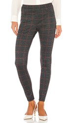 Sanctuary Grease Legging In Gray. Houndstooth Plaid