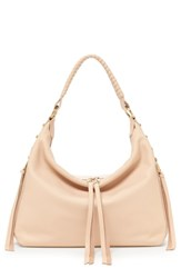 Botkier Samantha Leather Hobo Bag Orange Peach