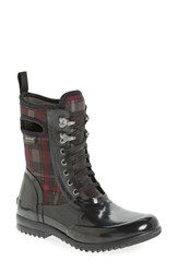 Women's Bogs 'Sidney' Tall Waterproof Lace Up Boot 1' Heel