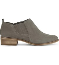 Aldo Luzzena Low Top Leather Ankle Boots Taupe