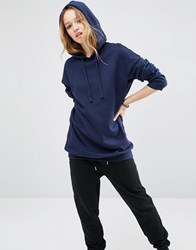 Asos Ultimate Oversized Pullover Hoodie Navy