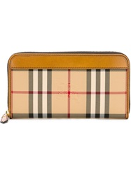 Burberry 'Horseferry Check' Wallet Nude And Neutrals