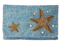 Mary Frances Sea Star Blue Multi Handbags