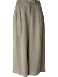 Dusan Loose Fit Culottes Nude And Neutrals