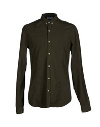 Esemplare Shirts Shirts Men Military Green