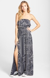 Element 'Whisk Away' Maxi Dress Navy