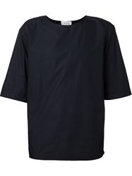 Lemaire Short Sleeve Round Neck Top