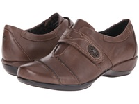 Aetrex Corinne Monk Strap Brown Women's Monkstrap Shoes