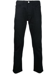 Ex Infinitas Classic Slim Fit Jeans Cotton Black