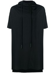 Lost And Found Ria Dunn Hooded T Shirt Cotton Black