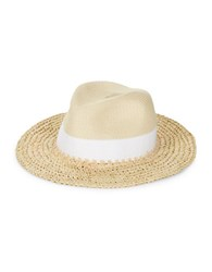 Echo Panama Colorblock Hat Natural White