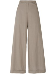 Humanoid Barb Based Trousers Women Cotton L Nude Neutrals