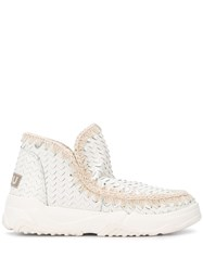 Mou Eskimo Textured Ankle Boots 60