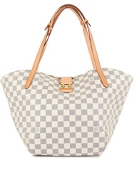 Louis Vuitton Vintage Salina Pm Shoulder Tote Bag White