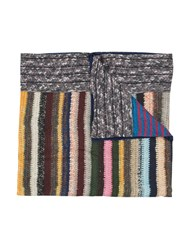 Pierre Louis Mascia Striped Scarf Multicolour