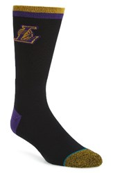 Stance Men's Nba Casual Lakers Logo Socks