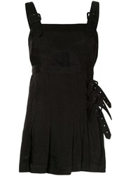 Alice Mccall Favour Buckle Embellished Dress Black