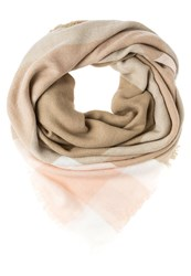 Anna Field Scarf Taupe White Rose